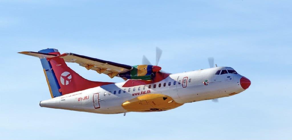 DAT airline's ATR aircraft